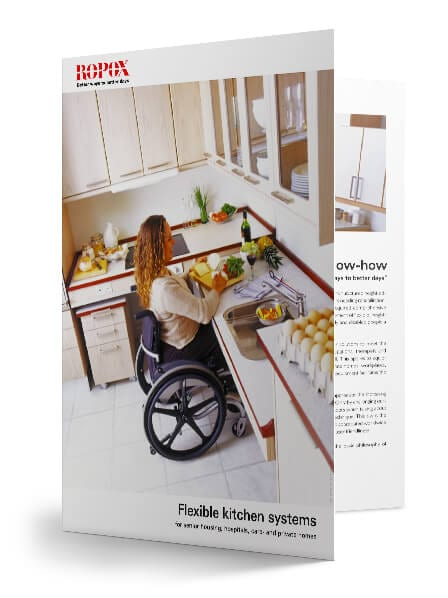 flexible kitchen brochure KitFrame Flexi (Benchtops)