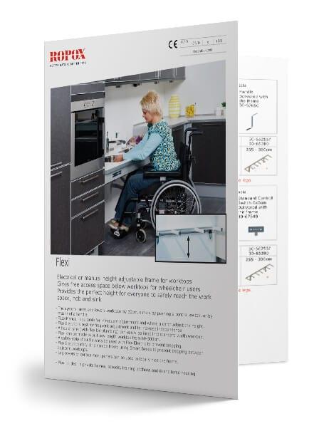 kitframe flexi brochure KitFrame Flexi (Benchtops)