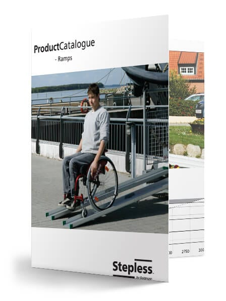 stepless product catalogue Wide Folding Ramp