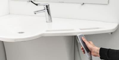 7 basin control Wash Basin