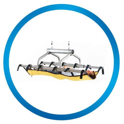 horizontal lifting foldable 2 straps Horizontal Lifting