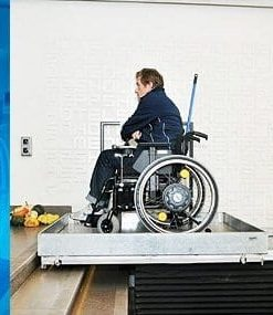 Guldmann (Stepless) Wheelchair Lifting Platforms