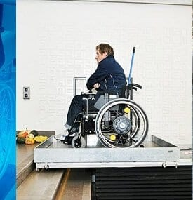 wheelchair lifting platform cat img HLS Healthcare