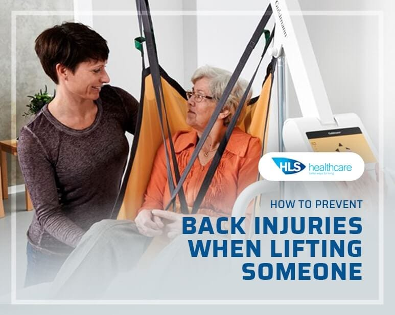 How to Prevent Back Injuries When Lifting Someone