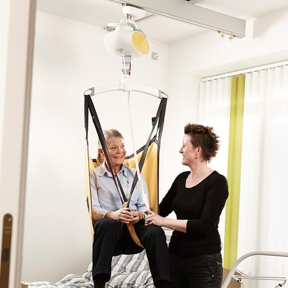 gh1 f ceiling hoist Products to Prevent lifting Injuries for Carers in Aged Care Facilities