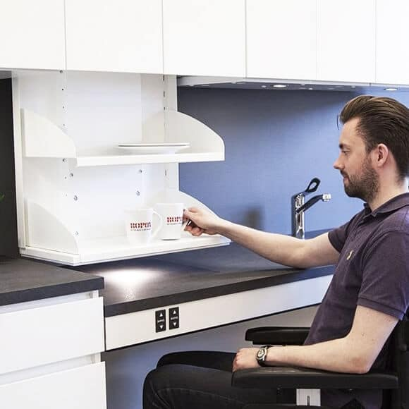 kitframe diagonal 2 Top 5 Things to Consider When Designing Kitchens for the Disabled