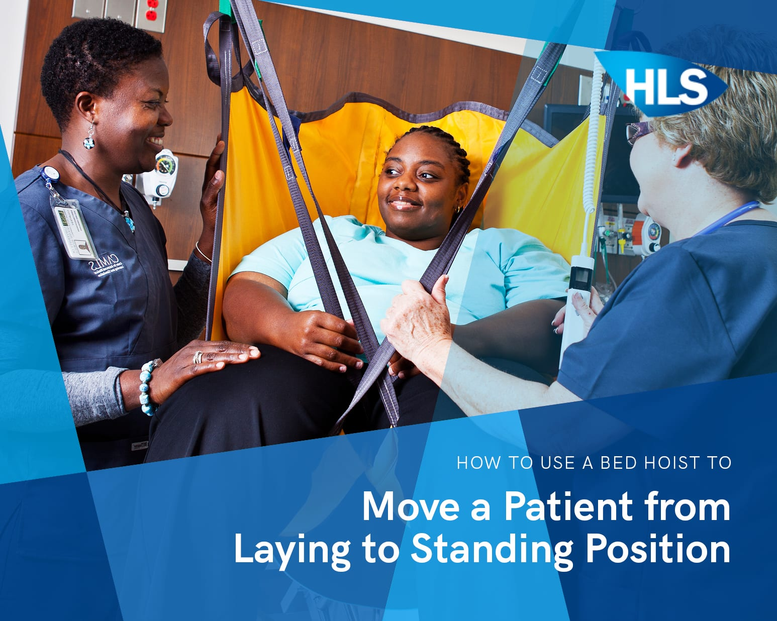 How to Use a Bed Hoist to Move a Patient from Laying to Standing Position