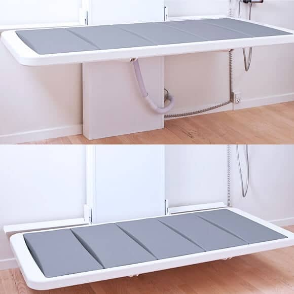 shower bed 1 Everything You Need to Know about Bathrooms for the Disabled