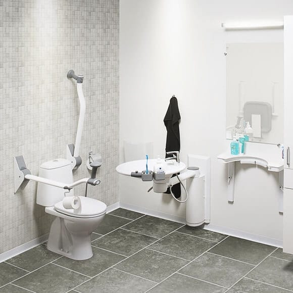 toilet support 2 Everything You Need to Know about Bathrooms for the Disabled