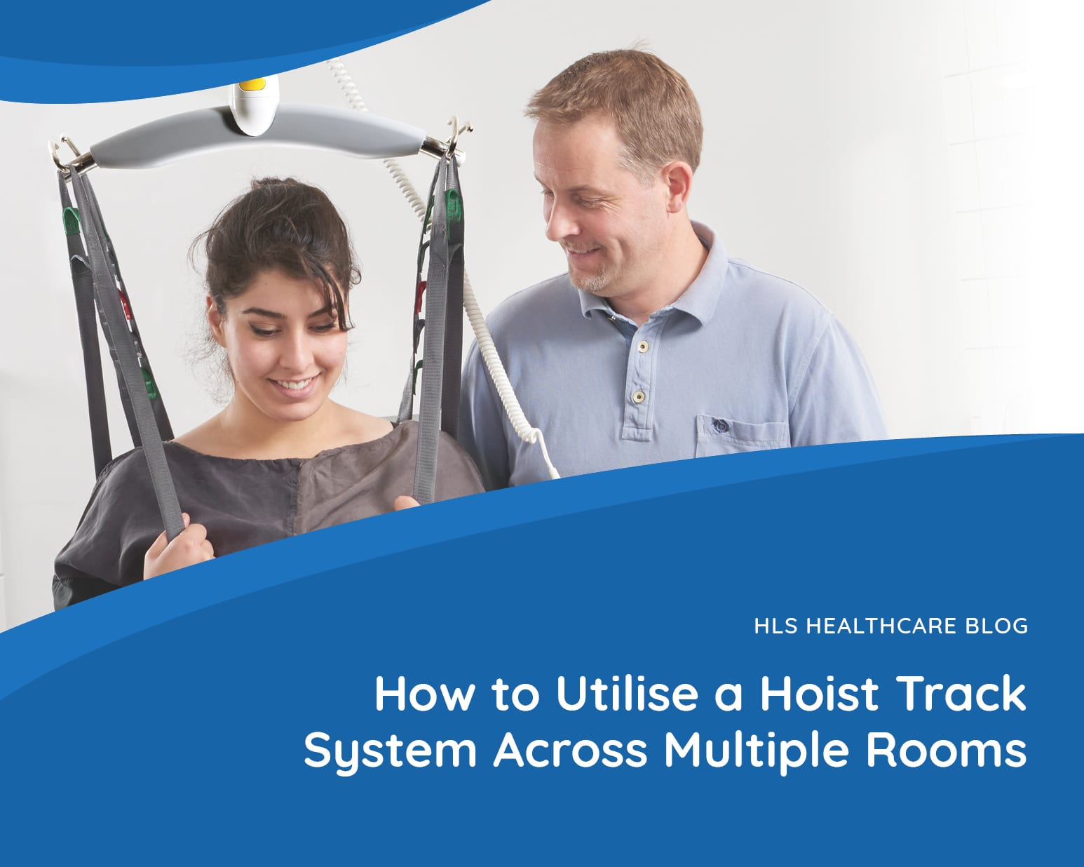 How to Utilise a Hoist Track System Across Multiple Rooms