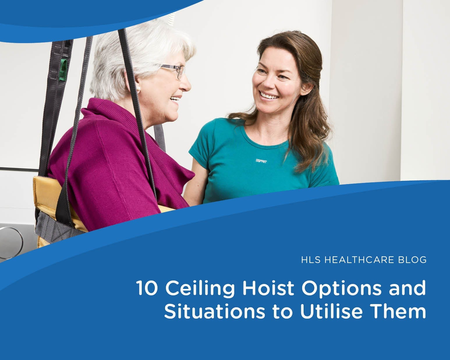 10 Ceiling Hoist Options and Situations to Utilise Them