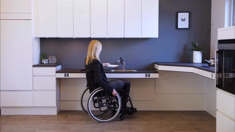 kitframe flexielectric a min 800x450 3 Kitchen Additions to Improve the Quality of Life for Handicapped