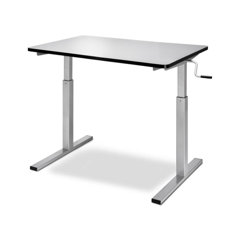 ergo table adj min 800x800 Custom made Tables for Seniors and People with Mobility Disabilities